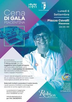 Cena di Gala in onore di Isa Mazzocchi