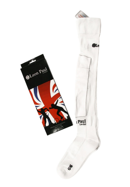 Advanced White Fencing Sock