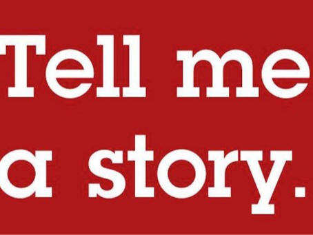 Tell Me a Story (about organisational transformation plans)