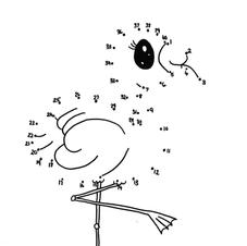 Flamingo Dot to Dot