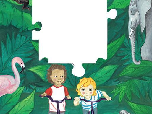 Jigsaw piece No 5