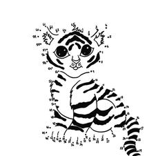Baby Tiger Dot to Dot