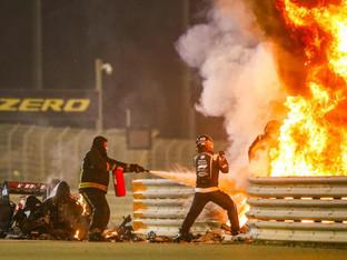 FIA concludes investigations into Romain Grosjean's accident in Bahrain