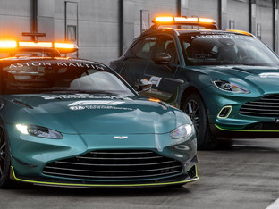 Aston Martin takes pole position as official Safety Car of Formula One