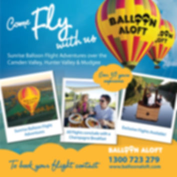 HunterValley-Balloon -BillionsLuxuryPort