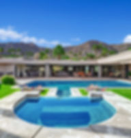 SPA AND POOL TO HOUSE AND MOUNTAINS MLS.