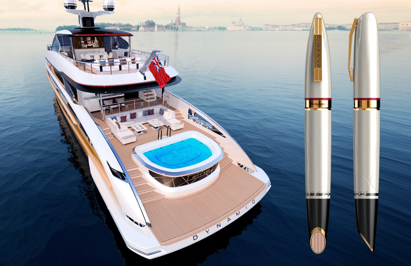 SUPERYACHT BRAND DYNAMIQ AND LUXURY PEN MAKERS MONTEGRAPPA COLLABORATE TO CREATE SPECIAL EDITION PEN