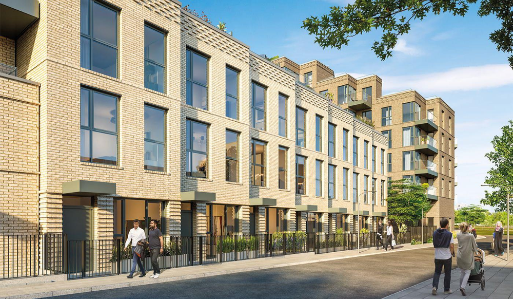 BERKELEY HOMES NEW TOWNHOUSE COLLECTION IN LONDON'S ZONE 2