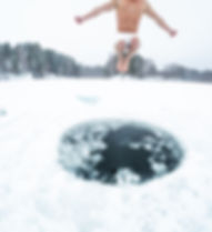 ICE - Jumping into the Arctic's cold wat