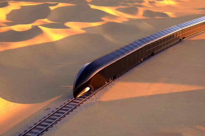 WILL THIS $350 MILLION TRAIN BE THE FUTURE OF LUXURY TRAVEL?