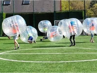 Experience is the key to a brilliant Zorb War!