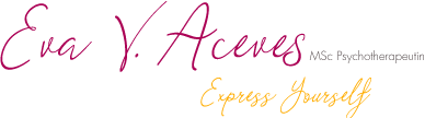 Eva V. Aceves | express yourself | MSc Psychotherapeutin_Logo