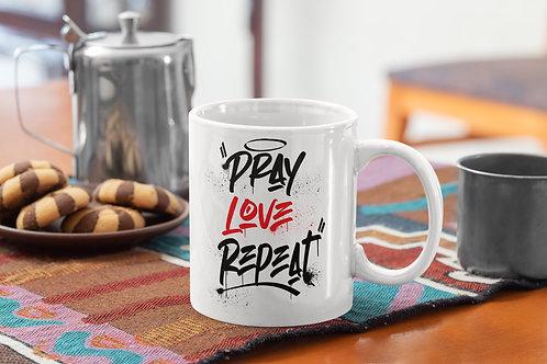 Pray Love Repeat - Mug
