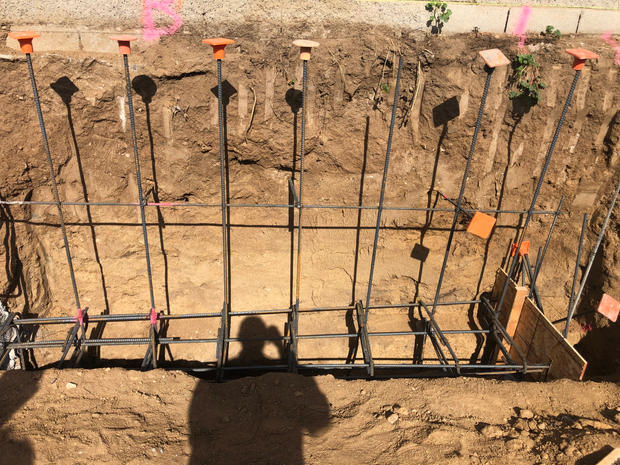 Rebar for Retaining Walls