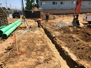 Drainage Pipe to Street