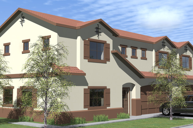 PLAN 1 FRONT LEFT ELEVATION