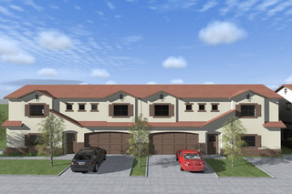 PLAN 1 FRONT ELEVATION