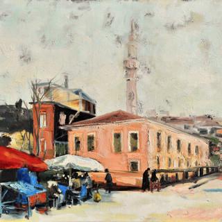 Istanbul/oil on canvas