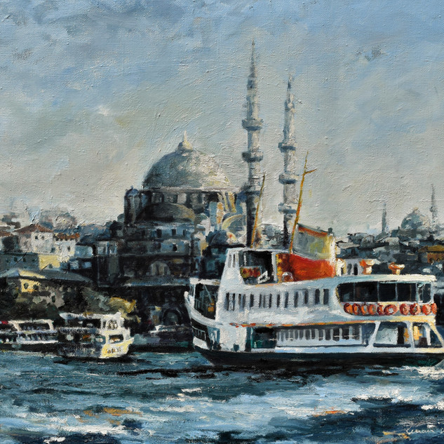 Istanbul/30x42/oil on canvas