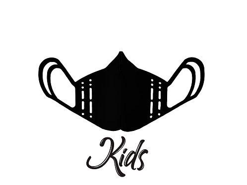 Mascherina KIDS - Blackout