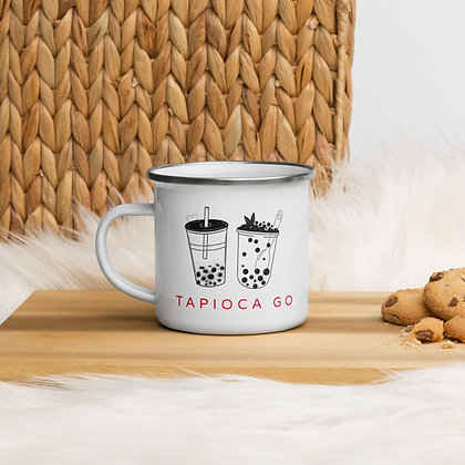 Tapioca Go - Enamel Mug
