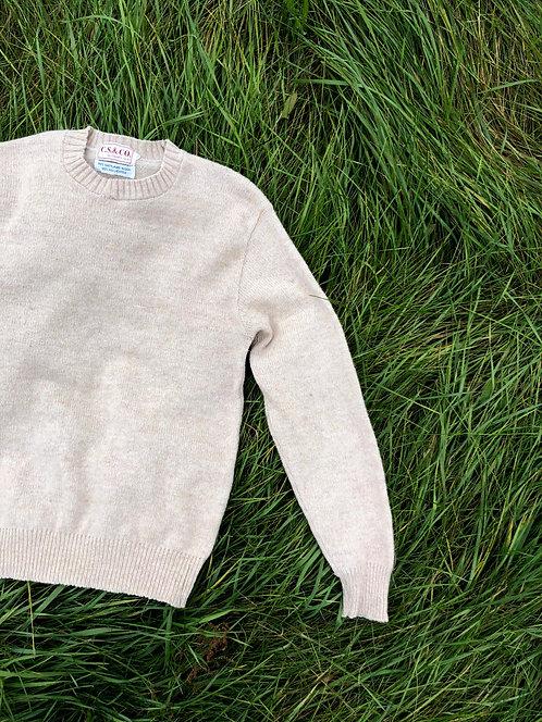 Vintage Crewneck Wool Sweater