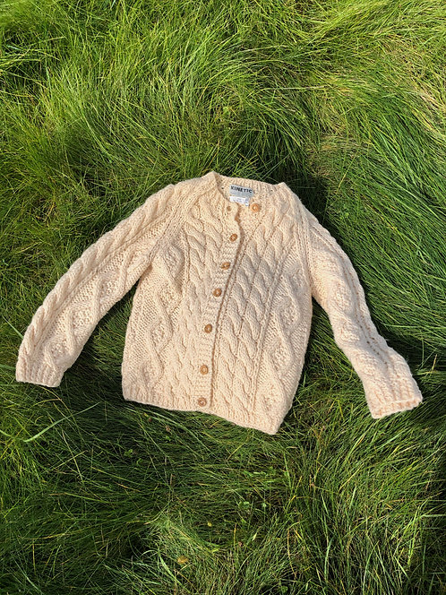 Vintage Fisherman Cardigan Sweater