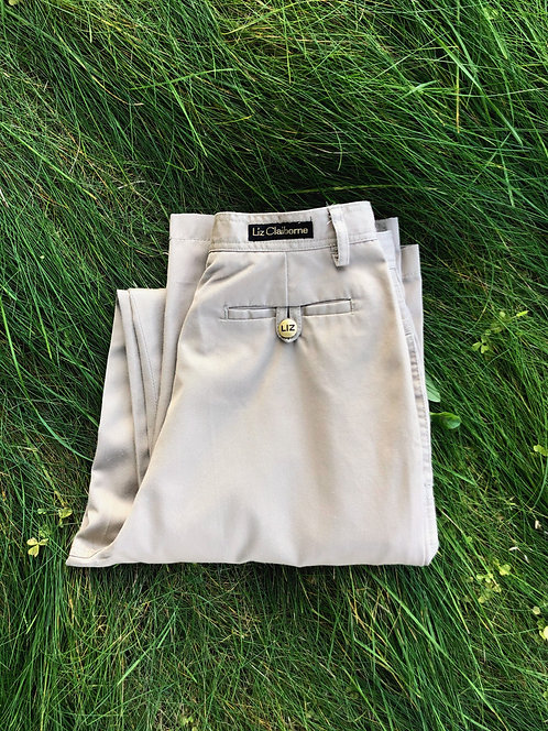 High Waisted Vintage Liz Claiborne Khaki Pants