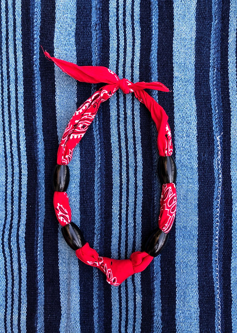 Vintage Bandana Necklace