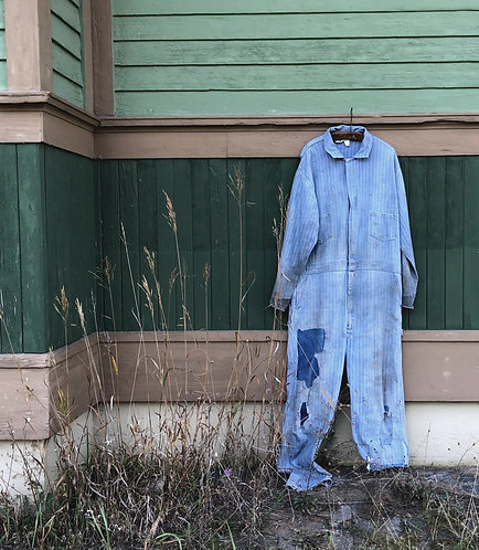 Vintage Key Imperial Patched Coveralls