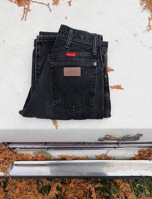 Vintage Wrangler Black Denim
