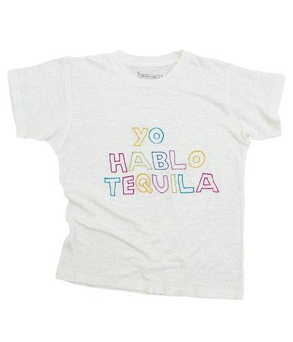 YO HABLO TEQUILA LINEN TEE