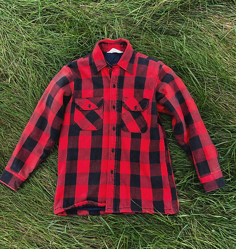 Vintage Insulated Buffalo Check Flannel