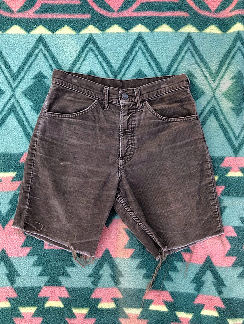Well Worn Vintage Levi's Corduroy Shorts