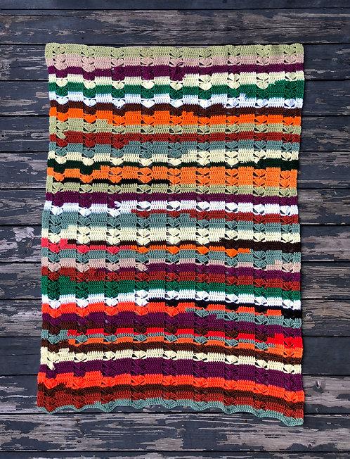 Handmade Vintage Afghan Blanket