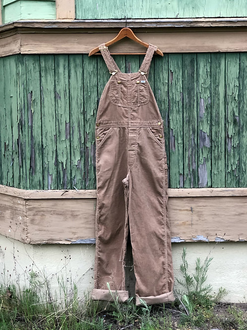 Lee Sanforized Corduroy Overalls