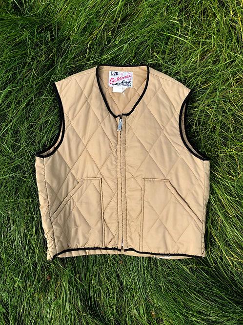 Vintage Lee Outerwear Quilted Vest