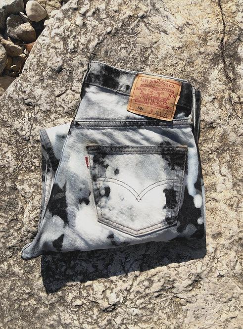 Bleach Splattered Levi's 501XX