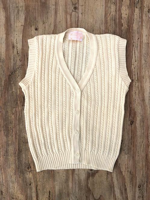 Vintage 60's Pendleton Cable Knit Sweater Vest