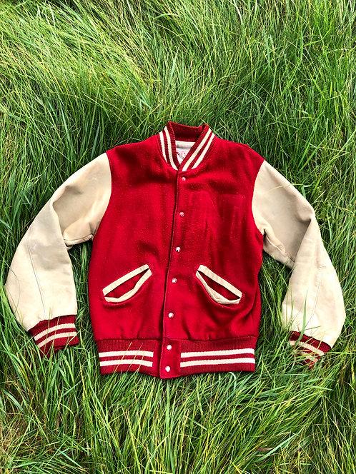 Vintage 50's Leather Varsity Jacket