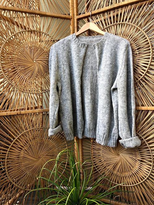 Vintage Handmade Cardigan Sweater