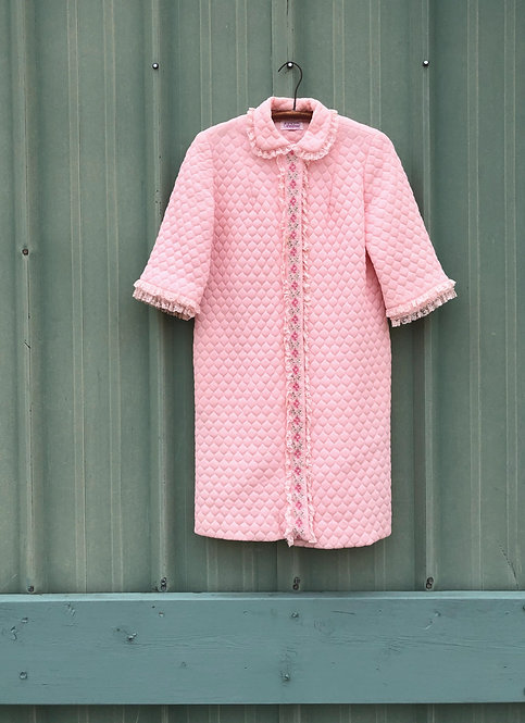 Vintage Quilted Robe