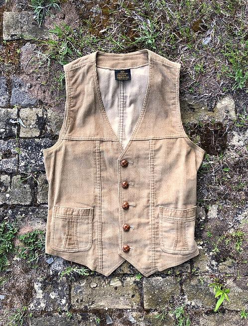 Vintage Cotton Corduroy Vest