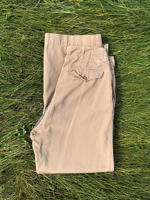 Vintage 50's Repaired Trousers