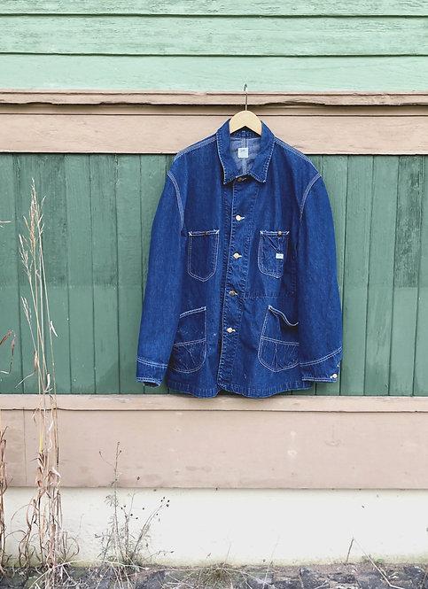 Men's Vintage LEE Sanforized J-91 Jelt Denim Chore Coat