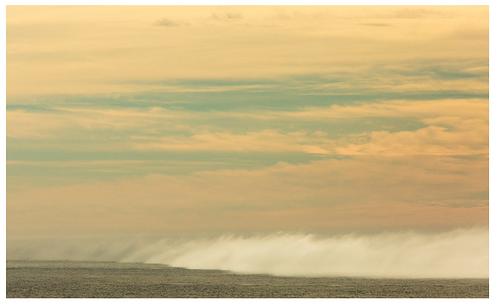 Zak Bush Fog Bank-Big Sur Print