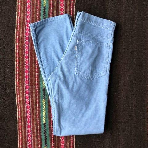Vintage 70's Levi's Corduroy Pants