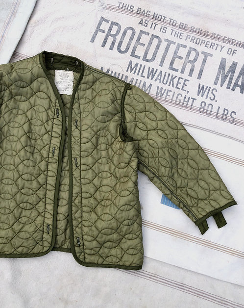 Vintage Quilted Nylon Jacket