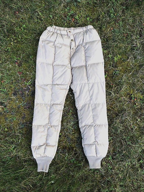 RARE Vintage Walls Down Quilted Pants