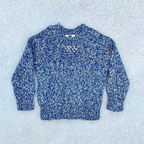 Indi Kids NOVA SWEATER Hand Knit Pima Cotton